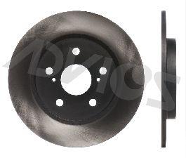 Advics Disc Brake Rotor  Rear