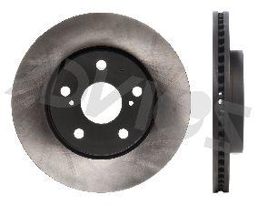 Advics Disc Brake Rotor  Front