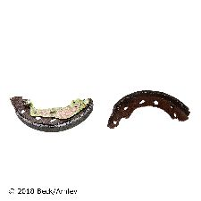 Beck Arnley Drum Brake Shoe  Rear