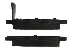 Centric Disc Brake Pad  Rear