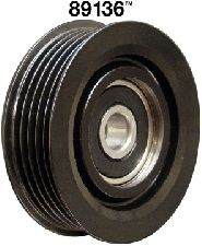 Dayco Drive Belt Idler Pulley  Alternator and Power Steering