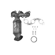 Eastern Catalytic Exhaust Manifold with Integrated Catalytic Converter  Front Right