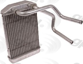 Global Parts HVAC Heater Core  Front