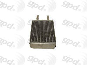 Global Parts HVAC Heater Core  Rear