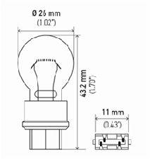 Hella Parking Light Bulb