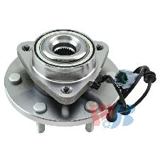 WJB Wheel Bearing and Hub Assembly  Front