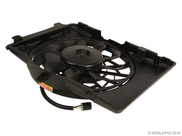 TYC Engine Cooling Fan Assembly