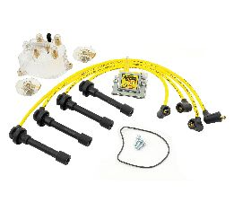 Accel Distributor Cap / Rotor / Coil / Spark Plug Wire Kit