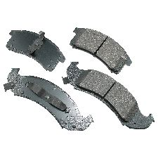 Akebono Disc Brake Pad Set  Front