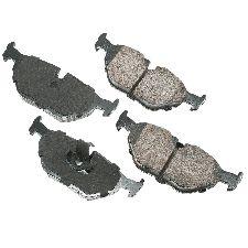 Akebono Disc Brake Pad Set  Rear