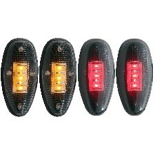 ANZO Side Marker Light Assembly  Rear