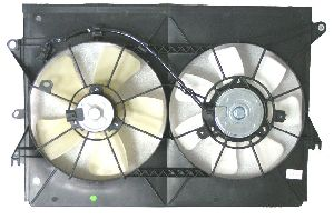 APDI Dual Radiator and Condenser Fan Assembly  N/A