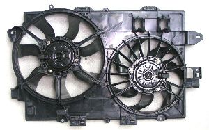 APDI Dual Radiator and Condenser Fan Assembly
