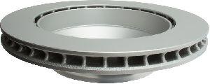 ATE Coated Disc Brake Rotor  Rear