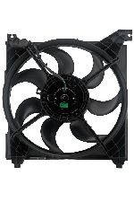 Auto 7 Engine Cooling Fan Assembly  Left