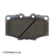 Beck Arnley Disc Brake Pad and Hardware Kit  Front