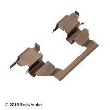Beck Arnley Disc Brake Hardware Kit  Front