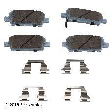 Beck Arnley Disc Brake Pad Set  Rear