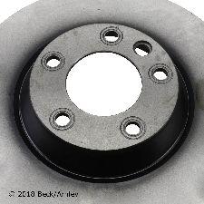 Beck Arnley Disc Brake Rotor  Front Left