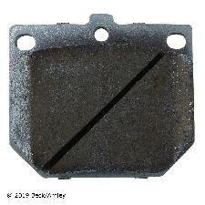 Beck Arnley Disc Brake Pad Set  Front