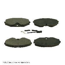 Beck Arnley Disc Brake Pad  Front