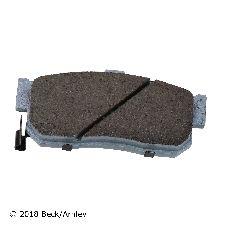 Beck Arnley Disc Brake Pad and Hardware Kit  Rear