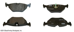Beck Arnley Disc Brake Pad  Rear