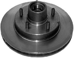 Bendix Disc Brake Rotor and Hub Assembly  Front