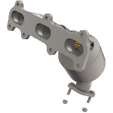 Bosal Catalytic Converter with Integrated Exhaust Manifold  Rear