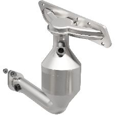 Bosal Catalytic Converter with Integrated Exhaust Manifold  Front
