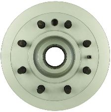 Bosch Disc Brake Rotor and Hub Assembly  Front