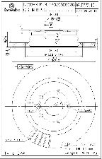 Brembo Disc Brake Rotor  Rear
