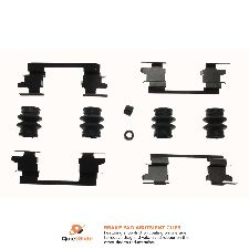Carlson Disc Brake Hardware Kit  Rear
