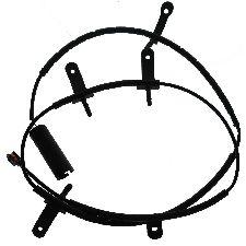 Carlson Disc Brake Pad Wear Sensor  Rear