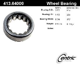 Centric Axle Shaft Bearing  Rear