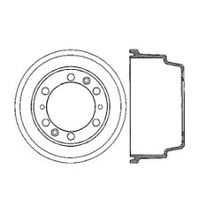 Centric Brake Drum  Front