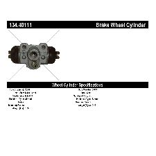 Centric Drum Brake Wheel Cylinder  Rear Right