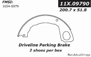 Centric Parking Brake Shoe  Driveline