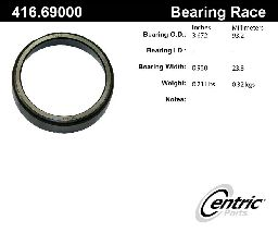 Centric Wheel Bearing Race  Front Outer
