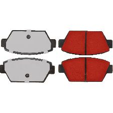 Centric Disc Brake Pad Set  Rear