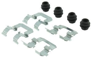 Centric Disc Brake Hardware Kit  Rear
