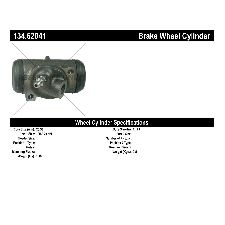 Centric Drum Brake Wheel Cylinder  Front Right