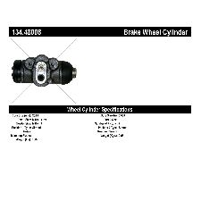 Centric Drum Brake Wheel Cylinder  Rear Left