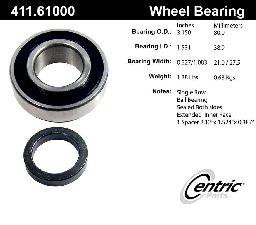 Centric Axle Shaft Bearing  Rear