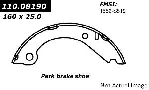 Centric Parking Brake Shoe  Rear