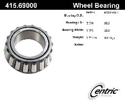Centric Wheel Bearing  Front Outer