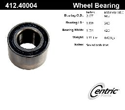 Centric Wheel Bearing  Rear