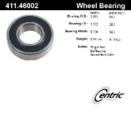 Centric Axle Shaft Bearing  Rear Inner