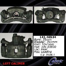Centric Disc Brake Caliper  Rear Left