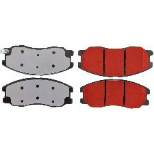 Centric Disc Brake Pad Set  Front